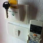 Key and air conditioning control...