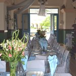 Dinning Area-decorate by Wedding Planner Penate