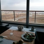 Breakfast and view to Erzurum