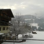 View from our balcony - kaiser in tirol