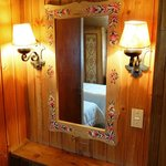 Dressing mirror in the room - Casita Suiza