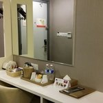 Dressing table area
