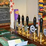 Great selection of beers brewed on the premises