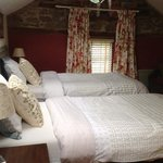 our twin bedded en suite room