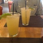Two delicious Hacienda Margaritas