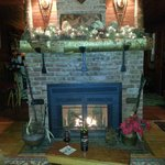 Cozy fireplaces all over the Inn!