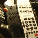 Another minor deficiency- dirty telephone. To be fair, I did not report it to the hotel at the t
