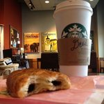 Snack while at Starbucks