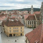 Sopron Belvaros from firewatch tower