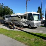 RV Parking Space-side view