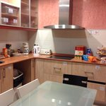 Fully equipped kitchen/ dining room