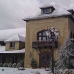 Chateau Morrisette Winery in Winter