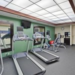 Get in a quick work-out at our Free Fitness Center
