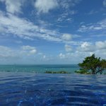 View from the pool of paradise!