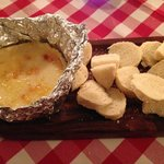 Baked Camembert in the Restaurant