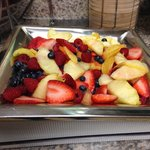 Delicious fruit - part of included breakfast choices