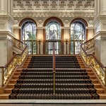 Lobby Grand Staircase facing Madison Avenue