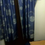Curtain at the room door