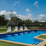 Lovely pool at Frankston Motel