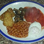Lovely breakfast from Tracy at Rigsby's Doncaster!