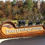 Beautiful Gated front entrance of Bear Creek Crossing Resort