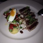 Nicoise Salad to start