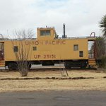 The caboose next door to the Whitten Inn.