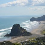 Lion Rock and Piha Beach
