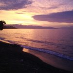 sunset @ Lovina Beach
