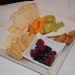 Yummy cheese platter!