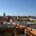 View from rooftop terrace