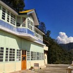 Hotel crags in garam sarak, here you can see beautiful view..