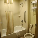 Room 221 - Bathroom - looked clean, smelled  alittle musty