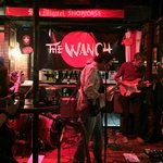 Band playing at The Wanch