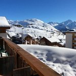 Le Castillian - view from rooms to the slopes