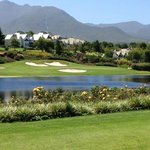 Montagu - from 16th tee back towards the villas