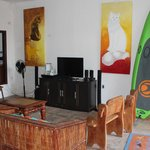 Sala de Estar, con TV Satelital y XBox