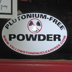 Pu Free Powder Sticker-circa the Z Plant years?