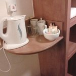 Basic tea & coffee facilities - only two milk sachets