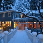 Snowy Evening at the Inn