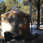 our yurt