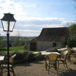 Outdoor dining - weather permitting