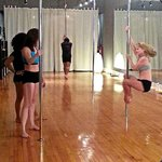 Pole Dancing is a great way to build strength in your upper body, lower body, and core.