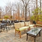 Access to our BBQ Grills and patio-grill out with your friends and enjoy the relaxing area