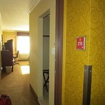 Entry into room 215