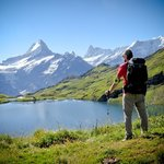 The hike from Faulhorn to Grindelwald and Naturfreundehaus