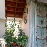 Beautiful entrance door