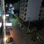 Street view from Hotel at night