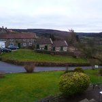 View from main building across to Annexe accommodation