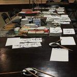 our calligraphy class
